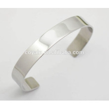 Small thin steel matt silver bangles for women uk