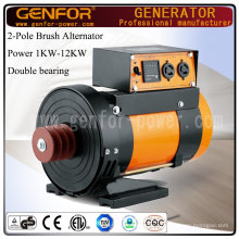 12kVA 2-Pole Double Bearing Alternator 3000rpm or 3600rpm