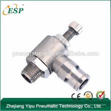 pneumatic metal elbow type speed controller
