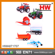 Green toys plastic toy trucks and trailers