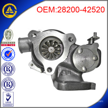 TDO4 28200-42520 turbocharger Hyundai D4BF engine