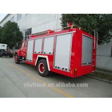 Alta seguridad 4 toneladas Dongfeng tanque de agua del camión de bomberos