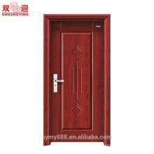 Porta do quarto de hotel de aço interior porta do quarto do hotel porta de saída de design bom preço