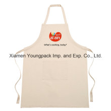 Personalized Printed Cotton Canvas Funny Kitchen Apron with Pockets