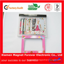 Magnetic Fridge Photo Frame PVC Resin