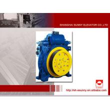 Ascensor de tracción gearless la máquina, 320kg - 2500kg