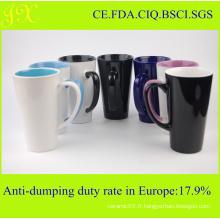 Tasse de porcelaine cadeau de promotion de la société / Tasses de café en céramique