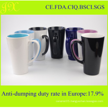 Company Promotion Gift Porcelain Mugs / Ceramic Coffee Mugs