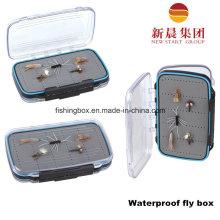 Compact Waterproof Fly Fishing Box