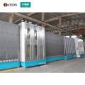 Machine de ligne de production de verre isolant vertical