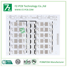 Aluminium LED PCB dengan tinggi Standard pengeluaran/aluminium LED PCB, LED PWB, mendahului daripada papan litar