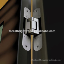 Zinc Alloyed Hidden Door Hinge for Home,Hotel