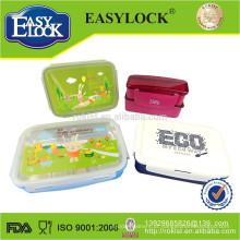 caixa de lanche de plástico