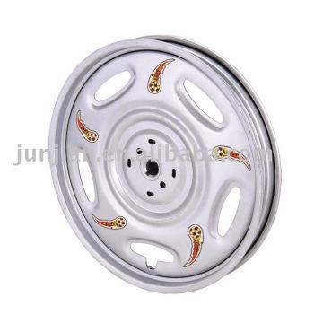 Cromo de aço aro de rodas triciclo