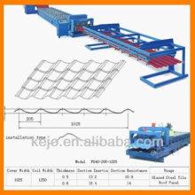 Stahl Fliesen Dach Roll Forming Machine Preise
