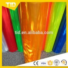 Folha de PVC reflexiva de alta visibilidade