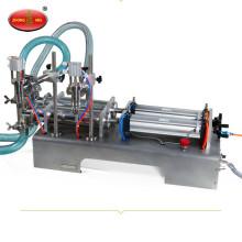 Líquido semi automático de alta calidad de 2 cabezas / máquina de rellenar de la goma para la venta