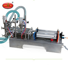 High quality 2 Heads Semi Automatic Liquid/Paste Filling Machine for sale