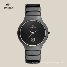 Popular Men′s Leisure Ceramic Watch Date at 6h 72112