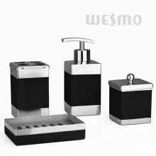 Rectangle Shape Stainless Steel Bathroom Set (WBS0809B)