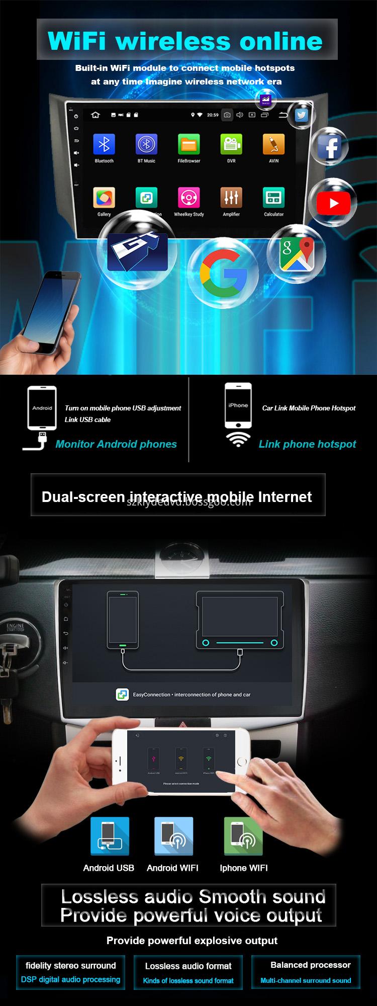 car media system for K2 RIO 2017