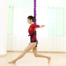JW Fitness Gymnastic Nylon Hammock Rope High Quality Exercise Equipment Bungee Dance Low MOQ Custom Aerial Yoga Pilates Rope
