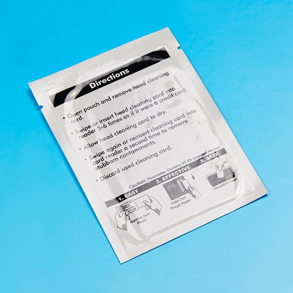 ATM Compressible Fibers Cleaning Card