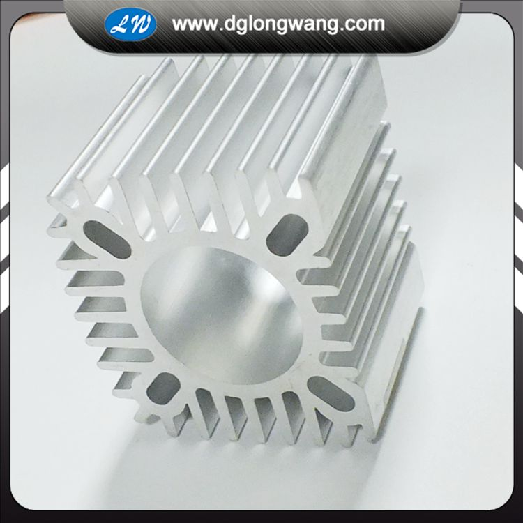 Custoized Aluminum Heatsink Machining