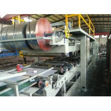 Línea de producción del panel de sándwich de la alta calidad EPS y de la lana de la roca