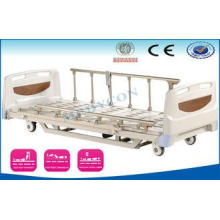 Three Function Electric Medical Nursing Beds With Cold Roll