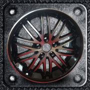 Machine Face Alloy Wheel