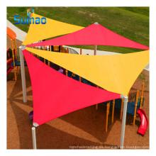 Triángulo de alta calidad del toldo del jardín de la vela de la cortina del sol del HDPE