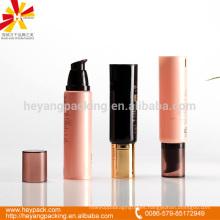 50ml tubo de espuma rosa / blanco