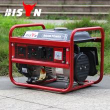 BISON (CHINA) Preço mais vendido do gerador de gasolina 154F 1Kw Portable Generator