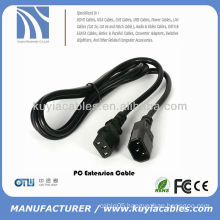 6ft PC Computer Monitor Power Cord AC Power Extension Cable