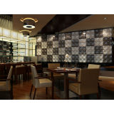 Waterproof Commercial 3d Decorative Wall Panel With Thermal Insulation Materials