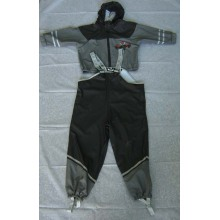Yj-6054 Reflektierende Kinder Jungen Kleinkind Kinder Regenmäntel PU Regen Mantel