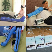 intermittent air compression machine for lymphatic drainage