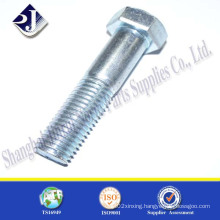Grade10.9 Hex Bolt with Zinc