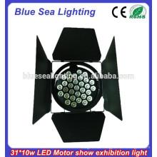 320W LED Auto-Erscheinen-Licht / 37pcs / 31pcs 10W LED Theater / Motor Ausstellung Par Licht