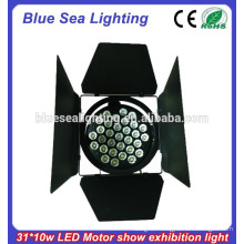 320W LED Car Show Light/37pcs/31pcs 10W LED Theater/Motor Exhibition Par Light