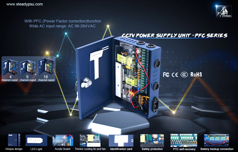 CCTV Power Supply -FPC series