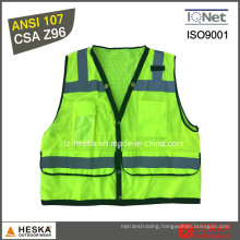 Class 2 Reflective Work Hi-Vis Vest