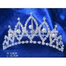 Crstal tiara comb (GWST12-113)