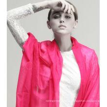 Super Tough 280 Garne Uni Farbe 100% Kaschmir Schal