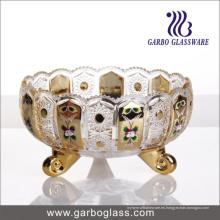Frasco de vidrio dorado GB1837xty-4-Dn