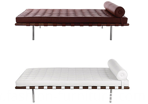 Leather Barcelona Daybed