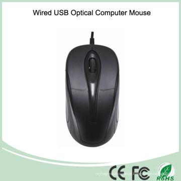 Rato de computador portátil USB com fio promocional