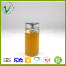 PET cilindro vazio limpa 100 ml garrafa de plástico com 42 mm de diâmetro de abertura