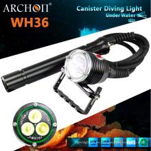 Archon Wh36 LED faro Max 3000lumens buceo linterna